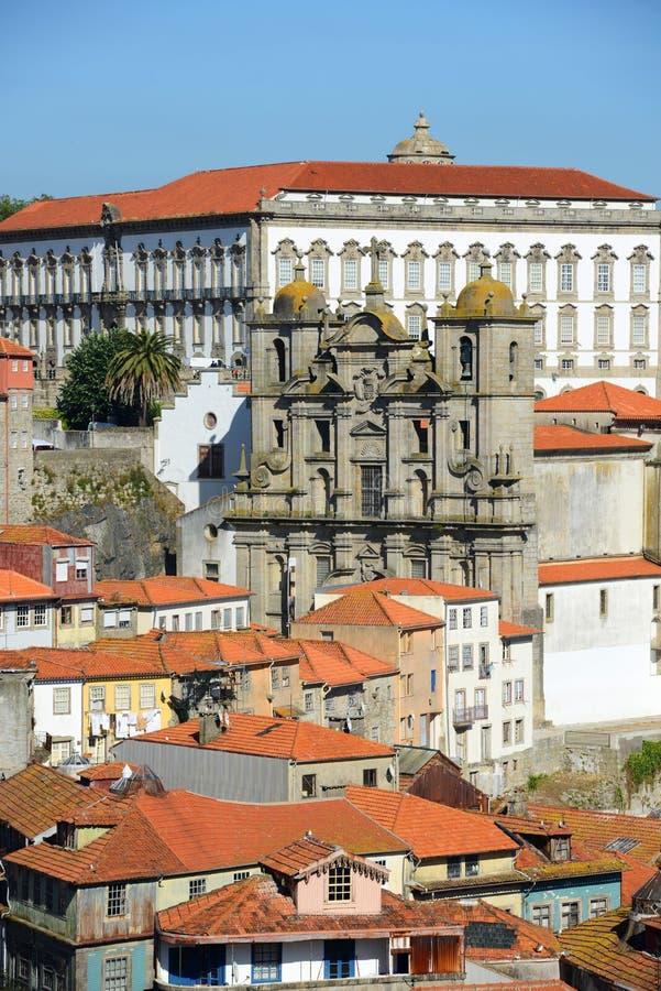Igreja DOS Grilos, Porto, Portugal royaltyfri bild