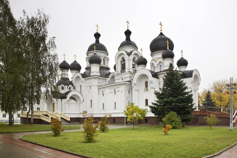 Igreja dos Mirra-portadores em Baranovichi belarus imagens de stock royalty free