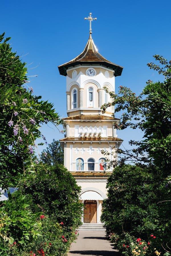 Igreja dos pais santamente em Boroaia, Romênia foto de stock royalty free