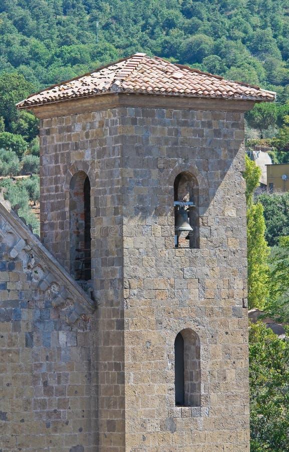 Download Igreja Dos SS. Salvatore. Bolsena. Lazio. Itália. Foto de Stock - Imagem de medieval, italy: 26517598