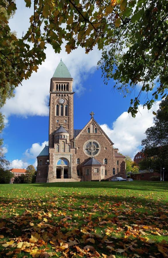 Igreja dos vasos em Gothenburg, Sweden fotografia de stock