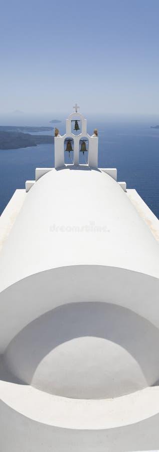 Igreja e mar fotografia de stock royalty free