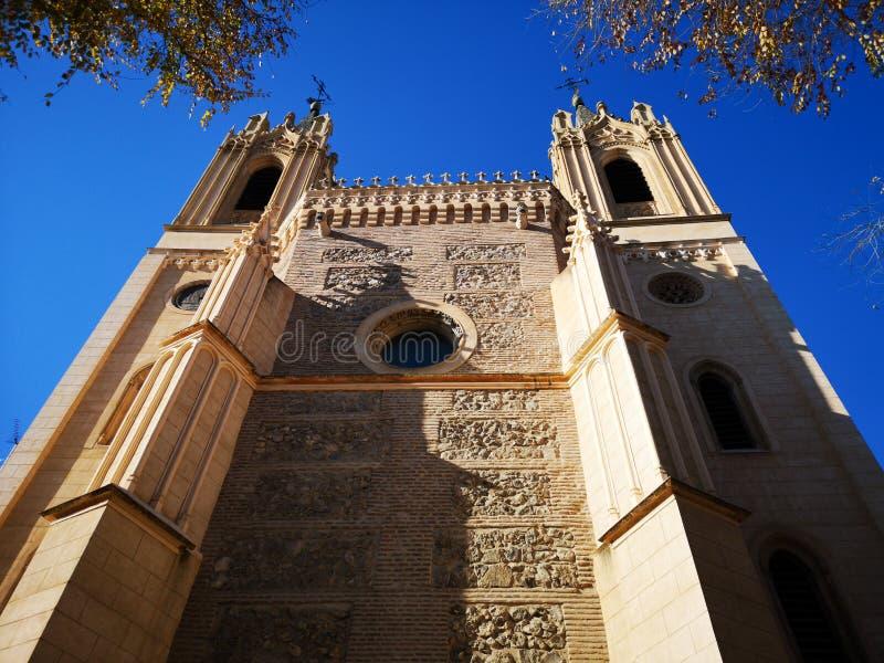 Igreja e monastério velho do EL do nimo do ³ de San Jerà real, no Madri, Espanha imagens de stock