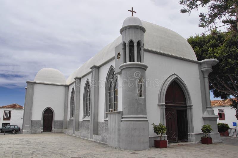 A igreja em Agulo imagem de stock royalty free