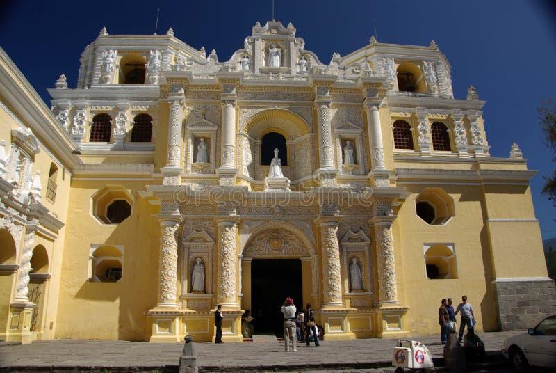 Igreja em Antígua, Guatemala fotos de stock