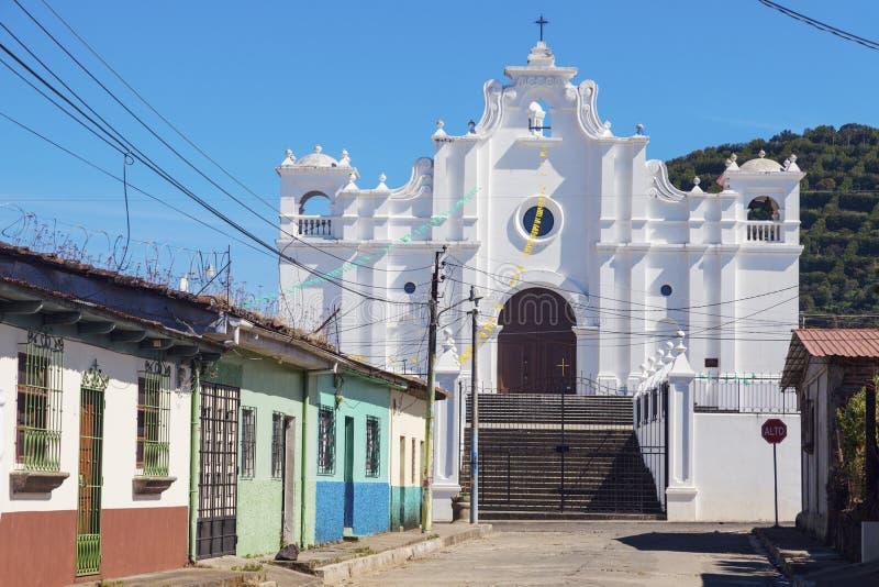 Igreja em Apaneca, El Salvador imagens de stock royalty free