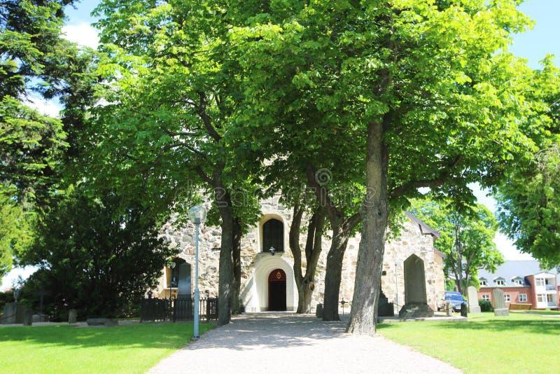 Igreja em Arboga fotos de stock royalty free