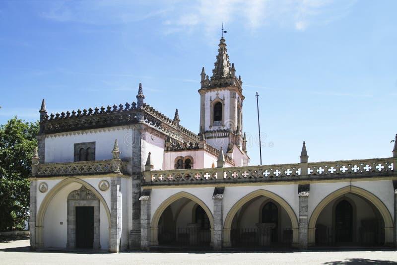 Igreja em Beja foto de stock