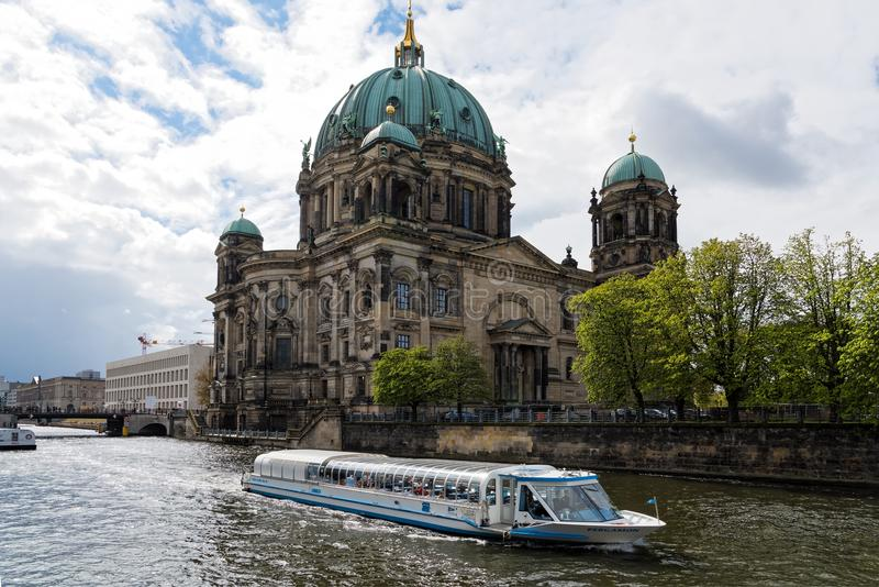 Igreja em Berlim fotos de stock royalty free