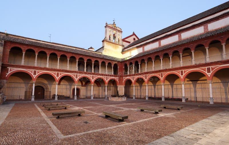 Igreja em Córdova, Espanha foto de stock