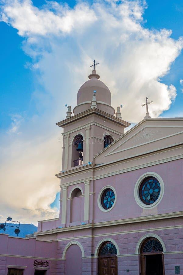 Igreja em Cafayate em Salta Argentina fotos de stock