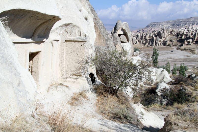 Igreja em Cappadocia fotos de stock