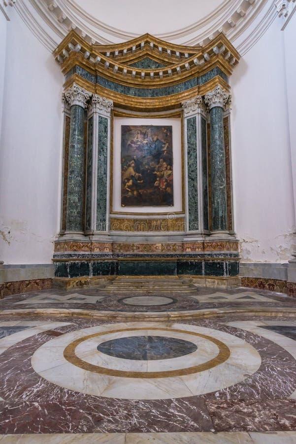 Igreja em Catania foto de stock royalty free