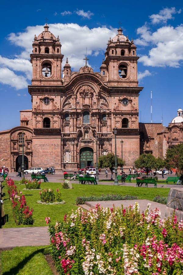 Igreja em Cusco foto de stock royalty free