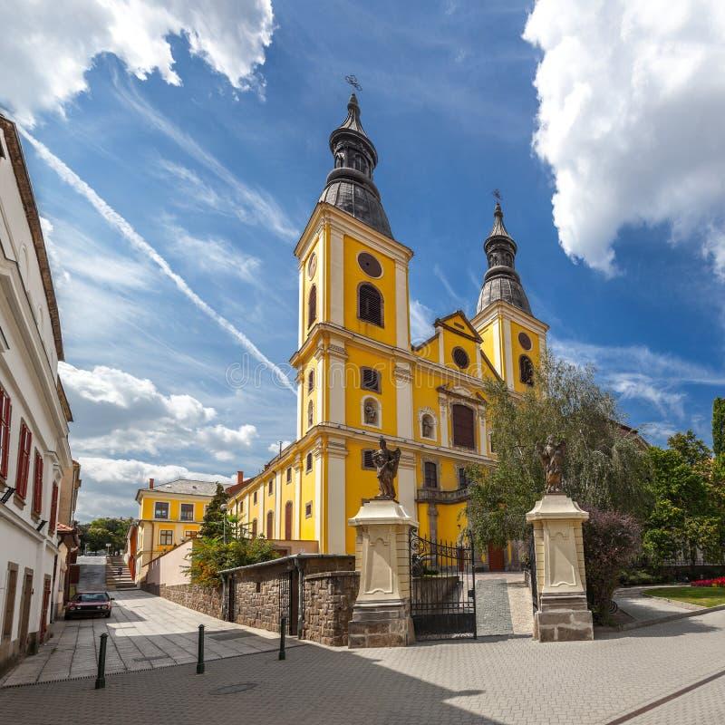 Igreja em Eger imagem de stock
