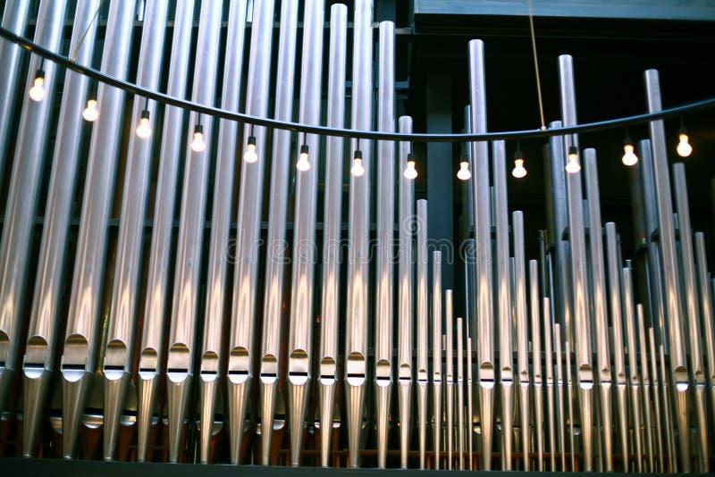 Igreja em Gentofte fotografia de stock