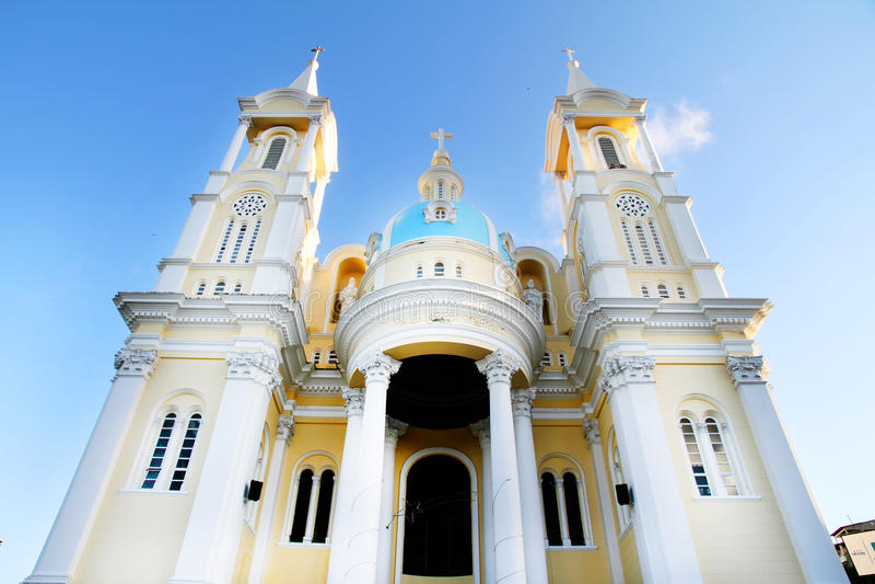 Igreja em Ilheus foto de stock royalty free