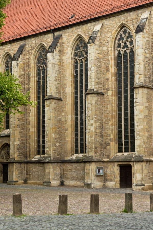 Igreja em Münster em Westphalia, Alemanha fotos de stock royalty free