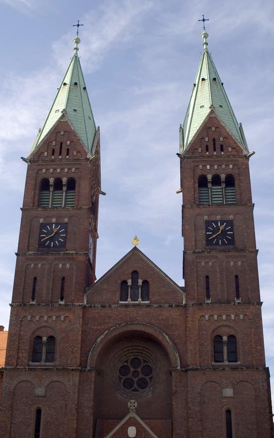 Igreja em Maribor Slovenia fotografia de stock royalty free