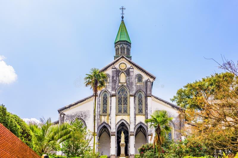 Igreja em Nagasaki fotos de stock royalty free