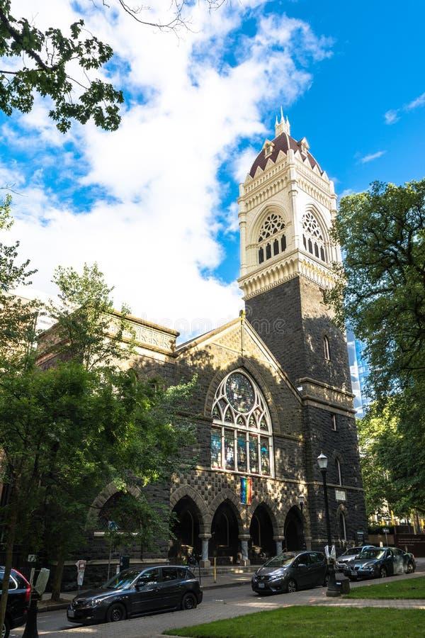 Igreja em Portland, Oregon imagem de stock royalty free