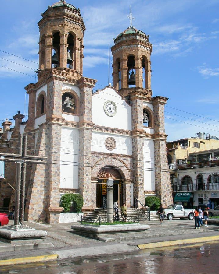 Download Igreja em Puerto Vallarta imagem editorial. Imagem de sinos - 65575790