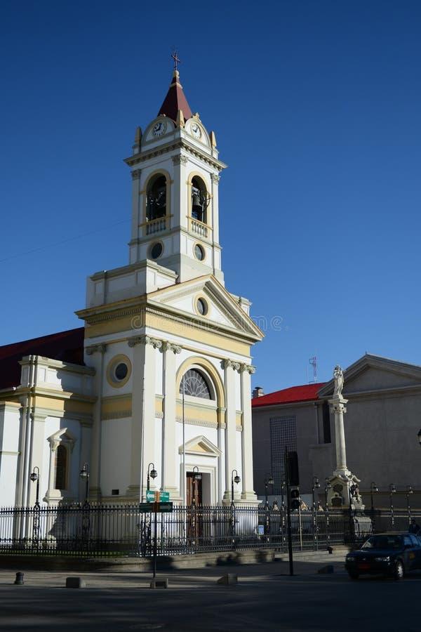 Igreja em Punta Arenas chile fotos de stock