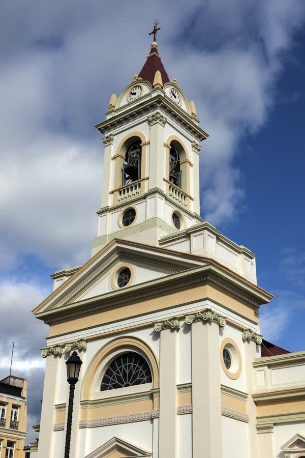 Igreja em Punta Arenas, o Chile imagens de stock royalty free