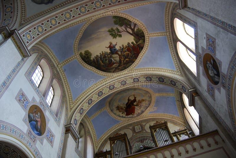 Igreja em Serbia imagens de stock royalty free