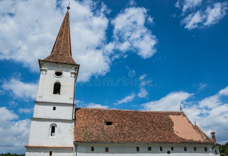 Igreja em Sibiel foto de stock