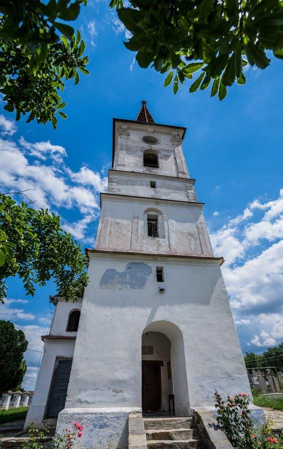 Igreja em Sibiel imagem de stock royalty free