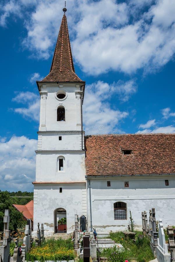 Igreja em Sibiel fotos de stock