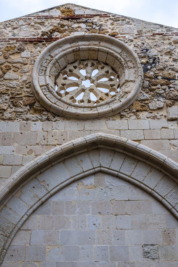 Igreja em Siracusa fotografia de stock royalty free