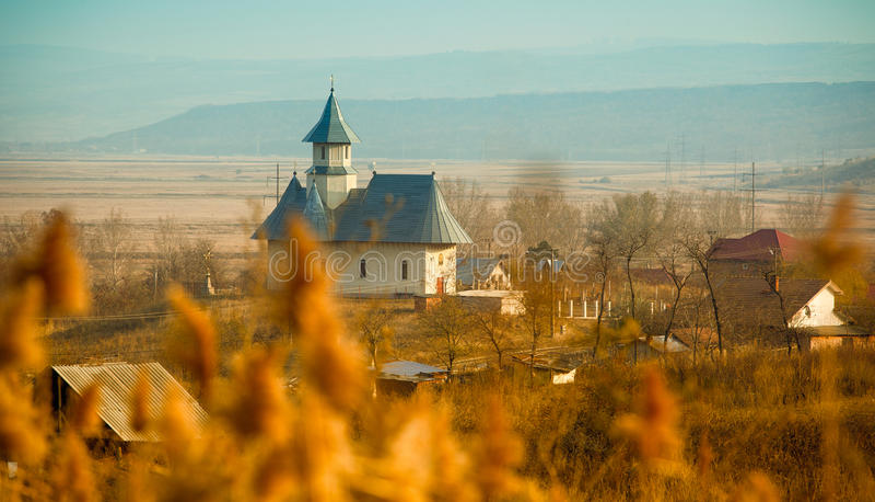 A igreja em Stanca foto de stock royalty free