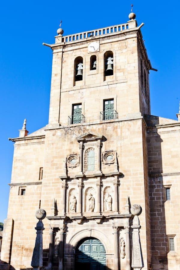 Igreja em Torre de Moncorvo imagens de stock royalty free