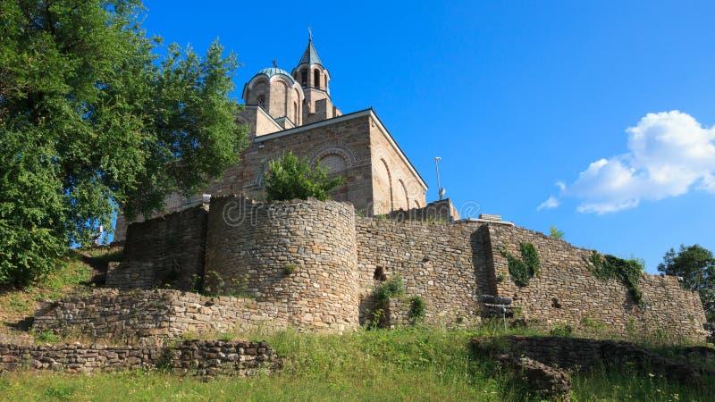 A igreja em Tsarevets imagens de stock royalty free