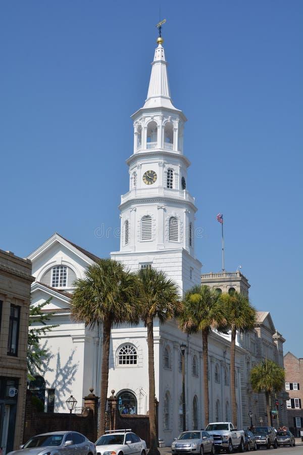 A igreja episcopal de St Michael imagens de stock royalty free