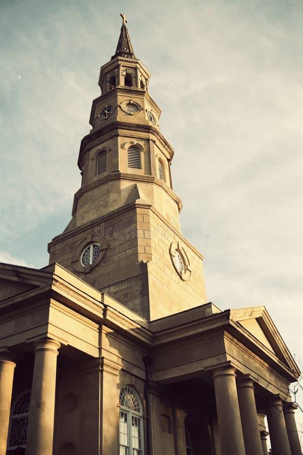 Igreja episcopal do St. Philip fotografia de stock
