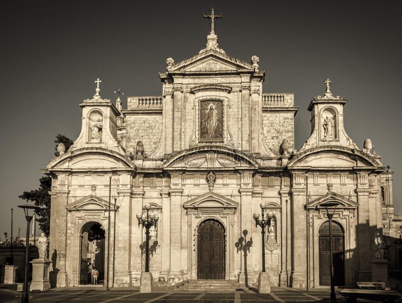 Igreja escolar de St Paul, Rabat fotografia de stock