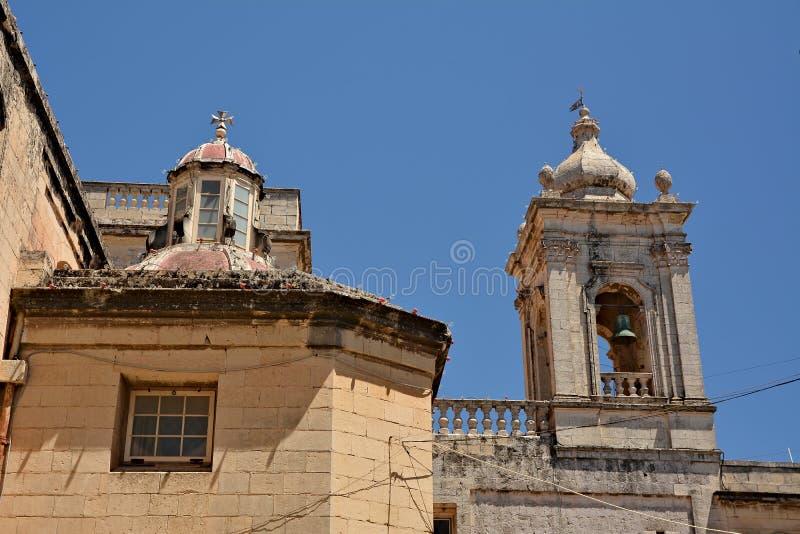 Igreja escolar de St Paul, Rabat fotos de stock