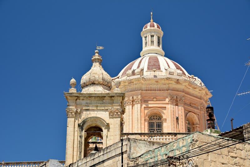 Igreja escolar de St Paul, Rabat imagem de stock