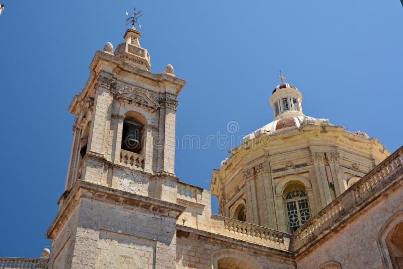 Igreja escolar de St Paul, Rabat fotos de stock royalty free