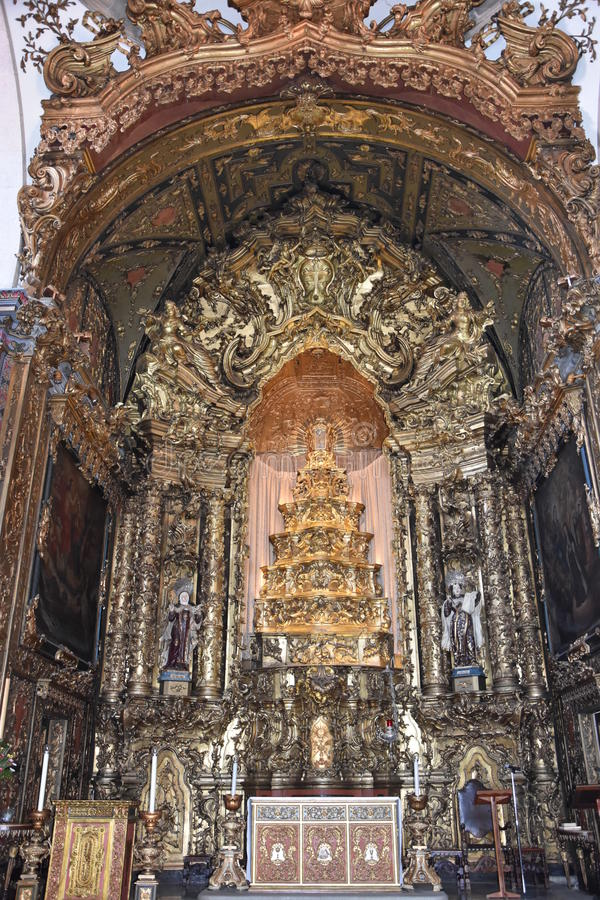 Igreja fa Carmo a Oporto, Portogallo immagine stock
