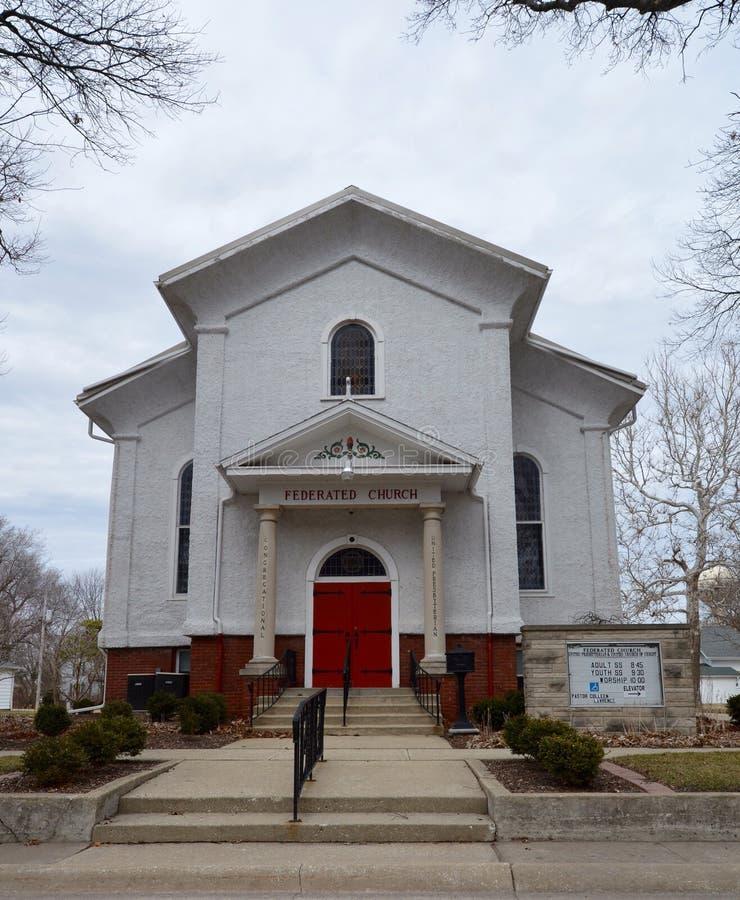 Igreja federada fotos de stock