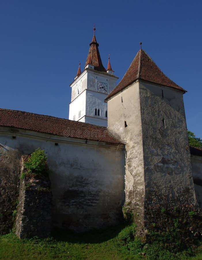 Igreja fortificada de Harman fotografia de stock royalty free
