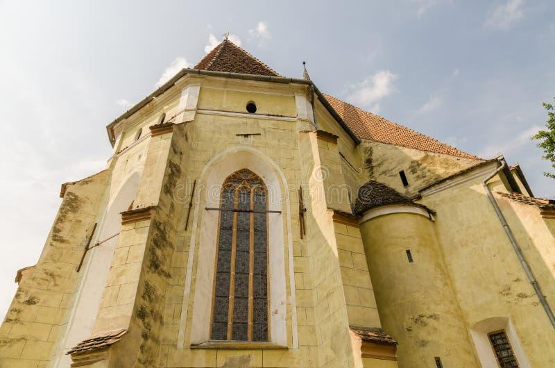 Igreja fortificada Evangelical fotografia de stock royalty free