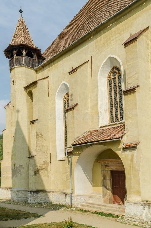 Igreja fortificada Evangelical foto de stock royalty free