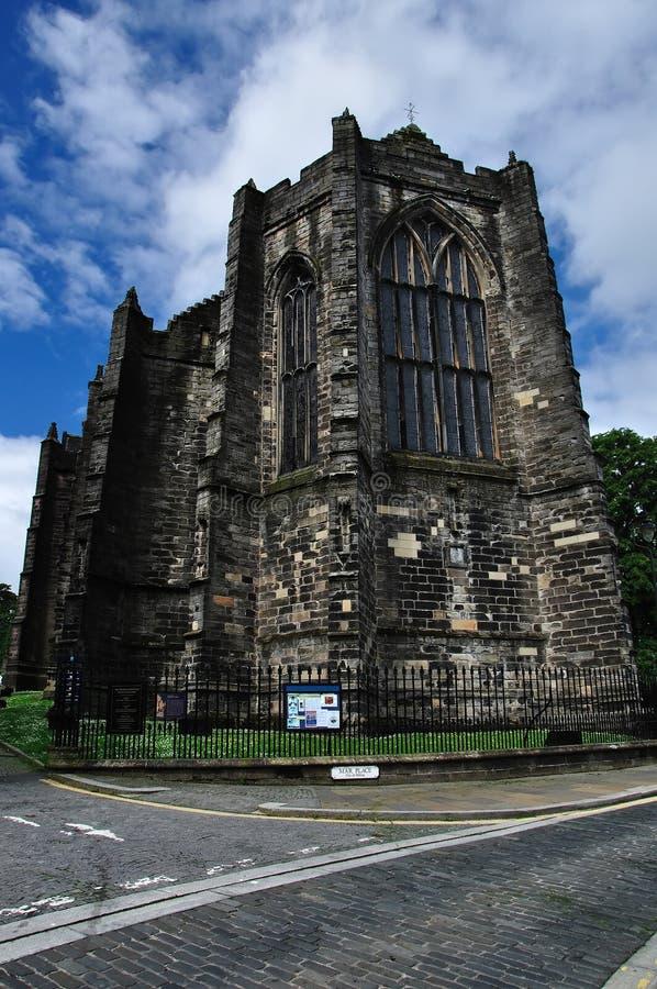 Igreja gótico em stirling scotland imagem de stock