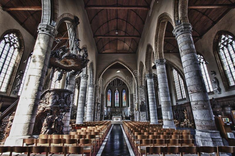 A igreja gótico majestosa foto de stock royalty free