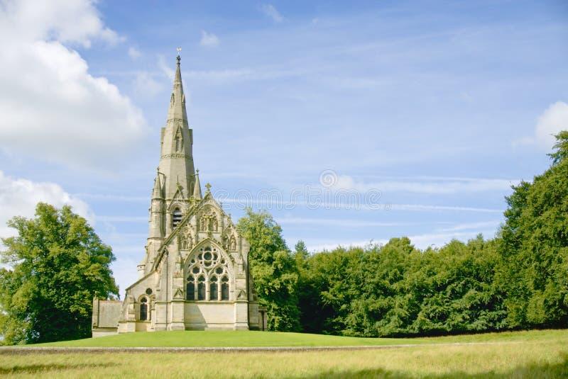 Igreja gótico vitoriano foto de stock royalty free